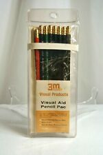 Vintage 3M Visual Aid Pencil Pac for Overhead Projection Transparencies