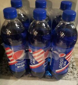 LIMITED EDITION PEPSI BLUE 6 x 16.9 oz Bottles