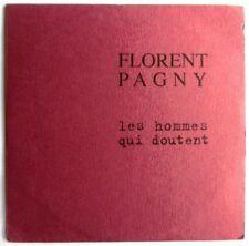 "FLORENT PAGNY - CD SINGLE PROMO ""LES HOMMES QUI DOUTENT"" - RADIO EDIT (3'47)"