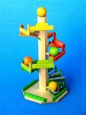 BECK Treppenkugelturm Holzspielzeug Kugelbahn Rollbahn Turm Spielzeug 20061