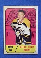 1967-68 Topps #92 Bobby Orr Boston Bruins Hockey Card REPRINT