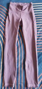 """Lululemon Train Times 25"""" Leggings - Pink Purple - UK 6 (US 2)"""