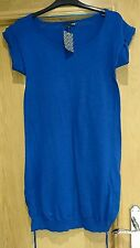H and m womens blue size 10 dress/top