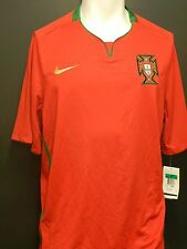 Nike Portugal 2008-2010 National Soccer Team Jersey NWT Adult 2XL