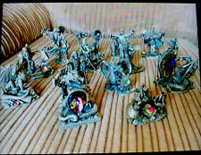 More details for 15 full sized myth & magic heavy pewter dragon & wizard figures