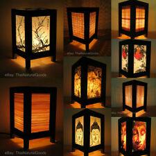 Lampade da interno in legno marrone