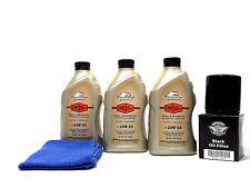 Harley Davidson 20W50 Screamin Eagle Syn3 Oil Kit HD Filter Black Dyna FXD