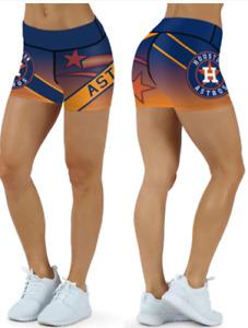 Houston Astros Small to 2XL Womens Shorts