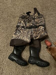 Lacrosse Men's 736121 Wetlands Realtree Max-5 1600G Insulated Waders Boots SZ 9