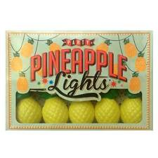 Pineapple Light String Tropical Kitsch Hawaiian Luau Party Fairy Lights