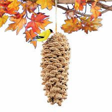 Edible Pine Cone and Seeds Hanging Bird Feeder