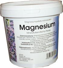 Natusat Magnesiumpellets mit Kräutern 2x1000g Mineralfuttermittel für Pferde