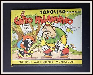 ⭐ Topolino pres GATTO MALANDRINO - Sinfonie Allegre Disney 1936 - DISNEYANA.IT ⭐