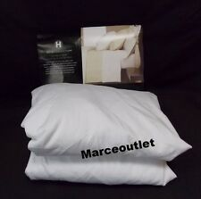 Hotel Collection 600 Thread Count Egyptian Cotton QUEEN Fitted Sheet White