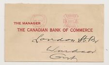 1937 Hamilton Ontario 3 Cents Meter on a Canadian Bank of Commerce