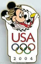 WDW/DLR Olympics 2004: Minnie with Olympic Logo Pin