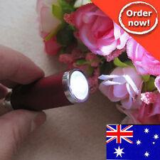 1 pcs x 2in1 Alloy Flashlight Torch + Carabineer Keychain  - NEW