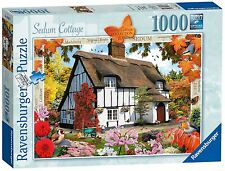 RAVENSBURGER PUZZLE*1000 TEILE*COUNTRY COTTAGE 10*SEDUM COTTAGE*RARITÄT*OVP