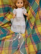 35cm  ans50-60,vintage ,tout d origine ,poupée mariée ou communiante  =NANCY,??