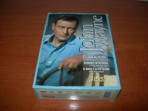 JOHN WAYNE TRIPLE PACK DVD PAL ESPAÑA