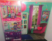 My Life As Reversible Background for Use with Dolls Bedroom & Bathroom 28835 New