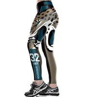 Ceinture large Leggings Tampa Bay flibustiers NO.22 Imprimé Sport Legging S-4XL 0173