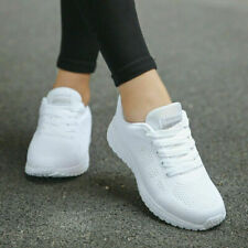 New listing Womens Ladies Knit Trainers Lace Up Sport Sneakers Casual Running Women Shoes