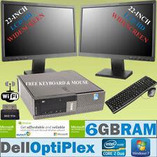 """PC de bureau Windows 7 Dell 22"""""""