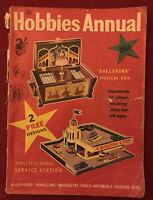 Vintage Hobbies Annual 1960 Craft Models Catalogue Stockists Handbook