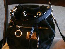 Coach Poppy signature drawstring crossbody bag .. FREE SHIPPING!!