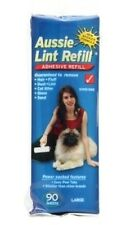 Aussie Lint Roller - Pet Hair Lint Fur & Dust Remover Refill - 90 Sheets - Large