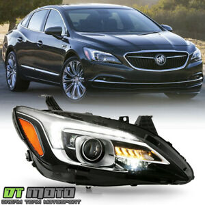 2017-2019 Buick LaCrosse HID/Xenon w/AFS LED DRL Projector Headlight - Passenger