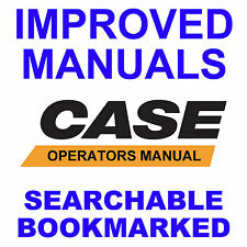 Case 580F 580 F Construction King Loader Backhoe Operators Manual & Brochure CD