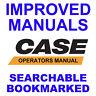 Case 580F 580 F Construction King Loader Backhoe Operators Manual & Brochure CD