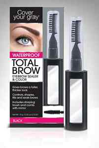 Cover Your Gray Waterproof Total Brow Eyebrow Sealer & Color 4 colors SHIPS FREE