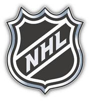 NHL Official Hockey Logo Car Bumper Sticker Decal 4'' x 5''