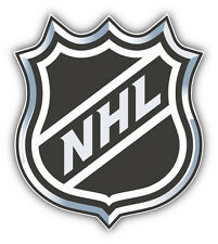NHL Official Hockey Logo Car Bumper Sticker Decal 4'' x 5''