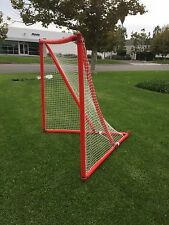 Airgoal Sports 6'x6' Safe Portable Inflatable Full Size Training Lacrosse Goal