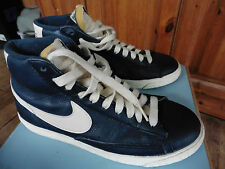 Nike Trainers High Top Excellent Condtiion Blue & White 6. No wear on sole.