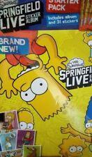 The Simpsons Sticker Sticker Albums
