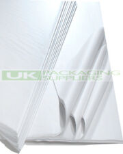 "50 Sheets of 450 X 700mm 18 X 28"" White Acid Tissue Wrapping Paper -"