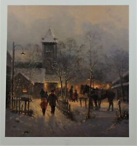 G Harvey Limited Edition Lithograph Ties That Bind Signed Numbered Issued 1998