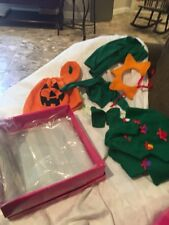 Marie Osmond Doll Pumpkin And Christmas Tree Costume's
