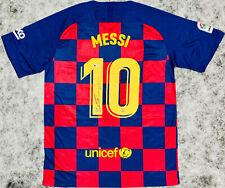 '19 - '20 Lionel Messi Signed Barcelona Jersey Soccer Barca Beckett BAS COA