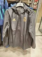 Adidas Real Madrid Men 19-20 Training Football Soccer All Weather Jacket DX7855