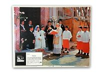 """""""The Godfather"""" Original 11x14 Authentic Lobby Card Poster Photo 1972 Pacino"""