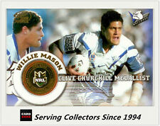 Select NRL Limited Edition Case Card: 2005 NRL Power Willie Mason
