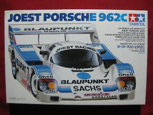 Joest Racing Team Porsche 962C 1/24 Tamiya Model Kit WSC Le Mans 24 Hr Race