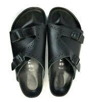 Birkenstock Tatami Sandals 46 Men's Size 13 Black Double Strap Cutout