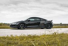 20x9 +35 20x11 +30 Rohana RF2 5x112 Black Wheel Fit Audi R8 2013 staggered rims
